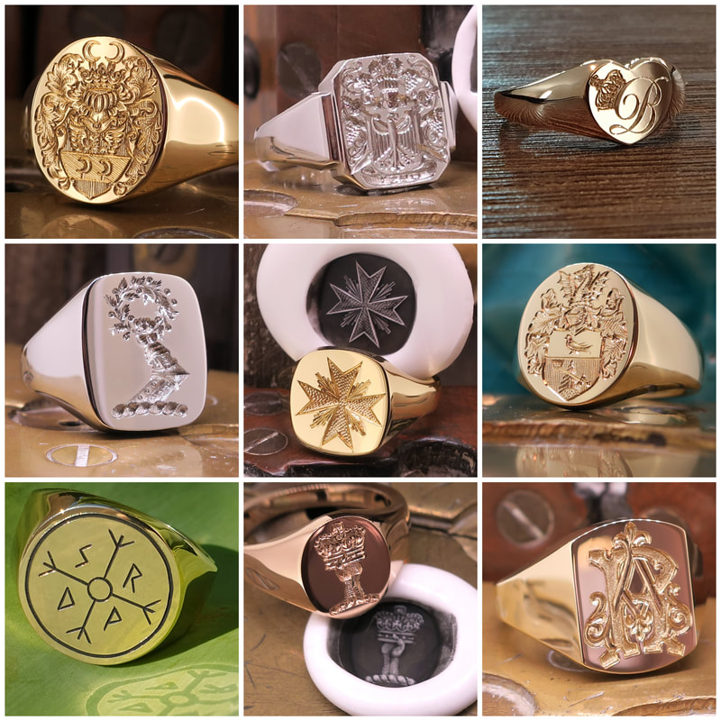 Signet Ring Shapes